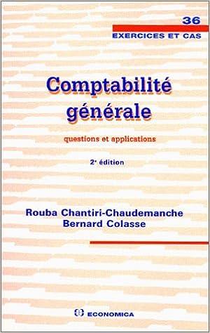 Lire en ligne Comptabilité générale : Questions et applications pdf, epub ebook