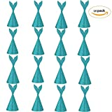 Solvang Glitter Mermaid Tail Party Hats Lovely Hats for Children and Adults Fiesta Party Favors (16pcs)