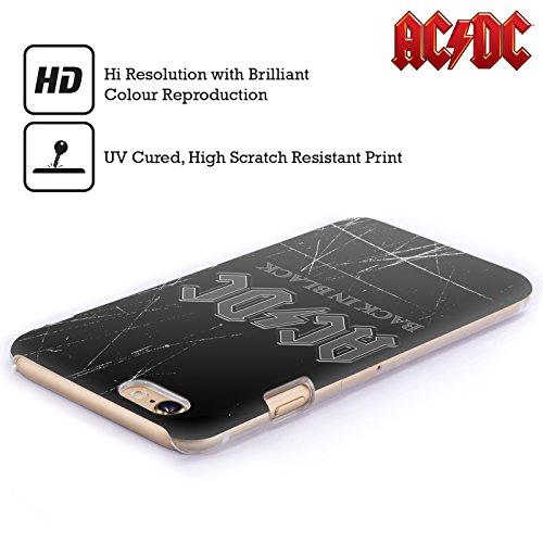 Officiel AC/DC ACDC En Arrière Dans Noir Logo Étui Coque D'Arrière Rigide Pour Apple iPhone 4 / 4S