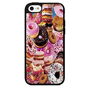 Yummy Doughnuts with Sprinkles Hard Snap on Phone Case (iPhone 5c) by runtopwell