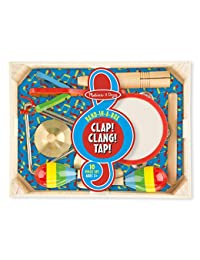 Melissa & Doug Band-in-a-Box Clap! Clang! Tap! - 10-Piece Musical Instrument Set BOBEBE Online Baby Store From New York to Miami and Los Angeles