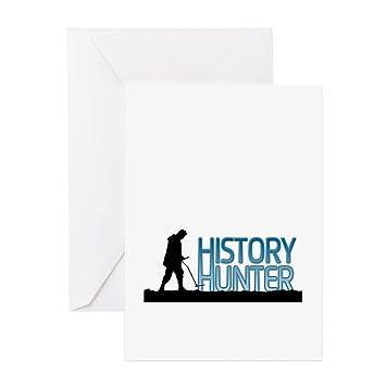 Amazon cafepress metal detecting history hunter greeting cafepress metal detecting history hunter greeting cards greeting card note card birthday m4hsunfo