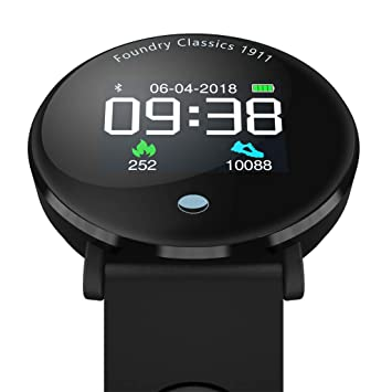 BOBOLover Reloj Inteligente,Pulsera de Actividad Inteligente Reloj Deportivo Reloj Digital Reloj Automatico GPS Pulsómetro Monitor de Ritmo Cardíaco Sueño: ...