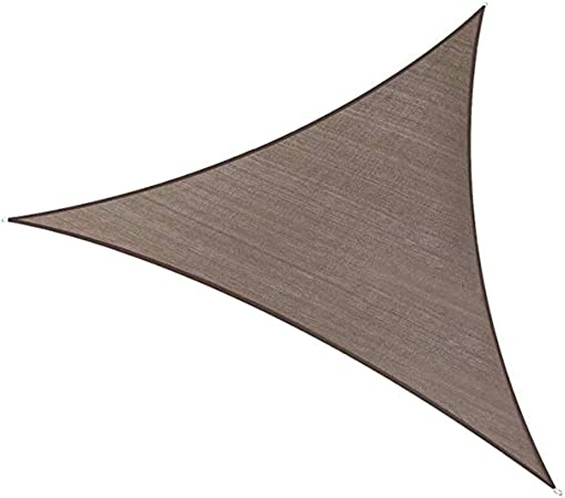BAIYING Malla Sombra De Red Balcón Protector Solar Al Aire Libre Impermeable Pérgola Cubrir Hebilla De Aluminio Fácil De Instalar 4 Colores, 5 Tallas (Color : Brown, Size : 3x3x3m): Amazon.es: Hogar