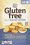 Lance Gluten Free Peanut Butter Bite Sized Sandwich Snack Crackers 5 Oz Box [4 Pack] For Sale