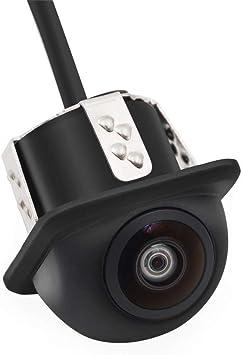 JayQm Cámara De Seguridad HD Visión Nocturna 180 Grados Ojo De Pez ...