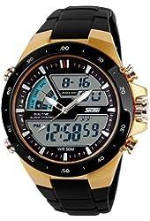 SKMEI 1016 New Sports Watch Silicone 50M Waterproof Light Digital