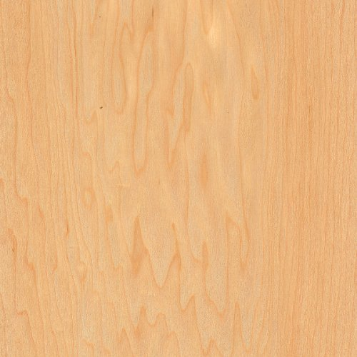 Maple Wood Veneer Sheet Rotary Spliced B Grade 4'x8' 10 mil(Paperback)