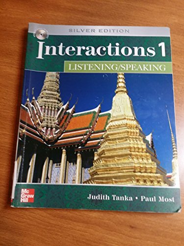 Interactions 1 Listening/Speaking, Silver Edition...