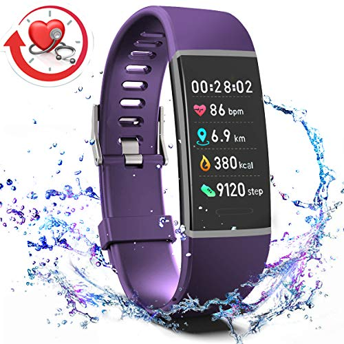 Screen Sleep - MorePro X-Core Fitness Activity Tracker Color Screen, Sleep Tracker Waterproof Health Watch with Heart Rate Blood Pressure Monitor, Step Calorie Counter Exercise Pedometer for Women Men