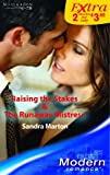 Front cover for the book Raising the Stakes by Sandra Marton
