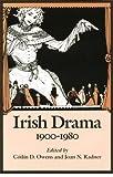 Irish Drama, 1900-1980 9780813207056