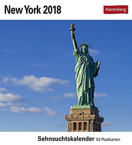 New York - Kalender 2018: Sehnsuchtskalender, 53 Postkarten