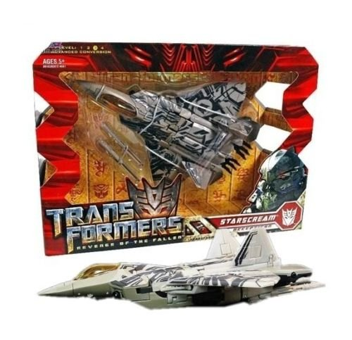 Transformers Voyager Starscream Toy Action Figure Doll New In Box