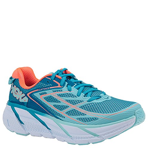 Image of the HOKA ONE ONE Women's Clifton 3 Shoe (6.5, Blue Jewel)