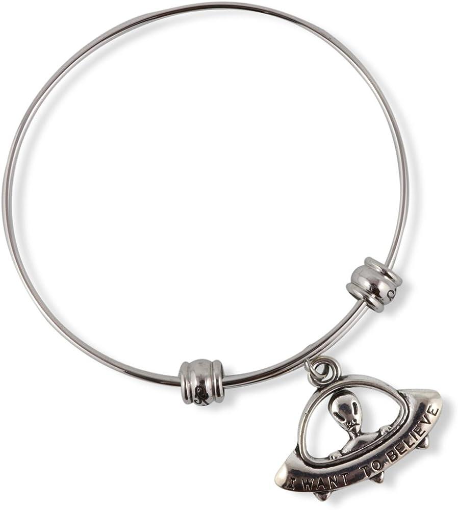 Alien Bracelet   Jewelry Alien Bracelet Bangle Gifts for Women Men UFO Jewellery Accessories Decor Accessories Ancient Charms Spaceship