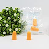 300 Pairs Ear Care Disposable Foam Earplugs Ultra Soft Foam Ear plugs Noise Reduction For Working Study/Sleep/Noring/Shooting