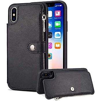 Amazon.com: Aearl iPhone XR Zipper Wallet Case,Apple