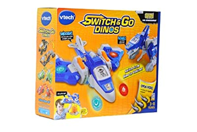 VTech Switch & Go Dinos: Blister the Velociraptor-Special Edition   Educational Toys