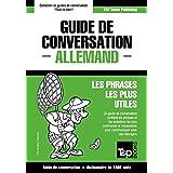 Guide de conversation Français-Allemand et dictionnaire concis de 1500 mots (French Edition)