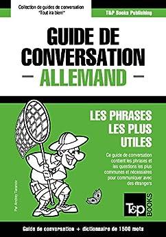 Guide de conversation Français-Allemand et dictionnaire concis de 1500 mots (French Edition) by [Taranov, Andrey]