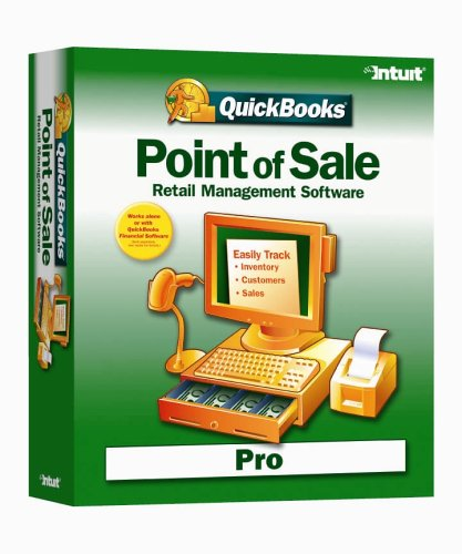 QuickBooks Point of Sale 5.0 Pro Retail Management Software
