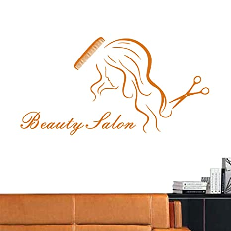 lyclff Salon Sticker Decal Hair Peluquería Posters Vinilo ...