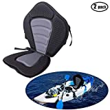 iztor Adjustable Padded Kayak Seat and Backrest Canoe Boat Seat