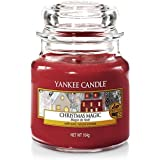 Yankee Candle Classic Jar Christmas Magic, Red, Small