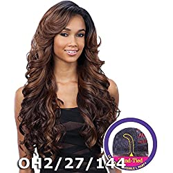 "FreeTress Equal Lace Deep Invisible ""L"" Part Lace Front Wig - KARISSA (OH2730613)"