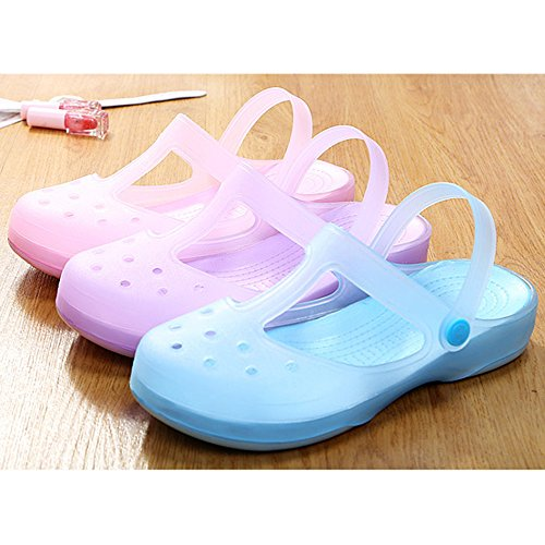 DULEE - Sandalias deportivas para mujer S2 Pink