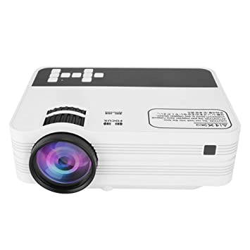 Mini Home Projector, proyector de Cine en casa LED Full HD ...