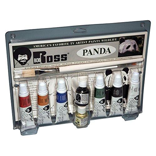 Bob Ross Panda Wildlife Painting Set