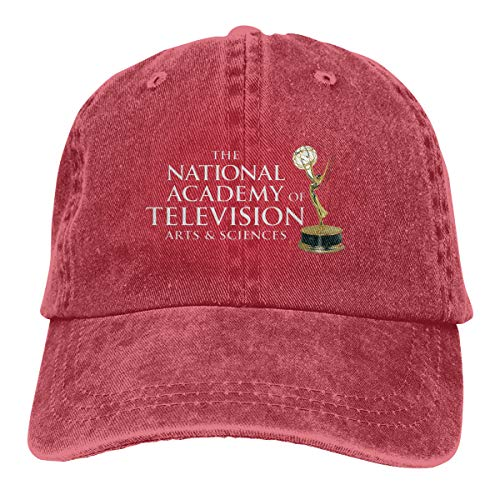 EWYRJK The National Academy of Television Arts and Sciences TTrucks Cotton Hat Cowboy Hat Baseball Caps Red