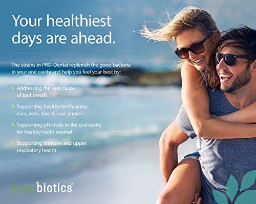PRO-Dental: Probiotics for Oral & Dental Health – Targets Bad Breath at its Source – Top Oral Probiotic Strains Including S. salivarius BLIS K12 & BLIS M18 – Sugar Free (Chewable) – 45 Day Supply