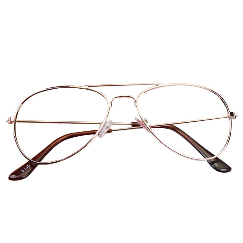 Juleya Baby Aviator Gläser Rahmen - Kinder Brillen Geek/Nerd Retro Reading Eyewear Keine Objektive für Mädchen Jungen X170929ETYJJ0201-J