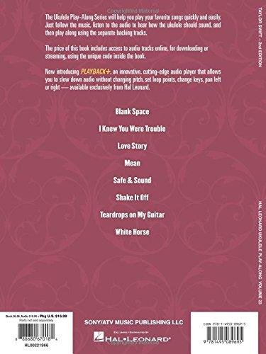Amazon Taylor Swift Ukulele Play Along Volume 23 Bkonline