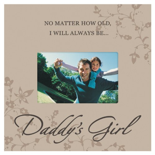 Malden International Designs Daddy's Girl Storyboard Wood Picture Frame, 4x6, Brown (Frames For Girls compare prices)