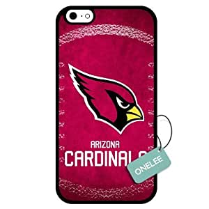 (TCustomized NFL Arizona Cardinals Team Logo Design PC Case For Samsung Galaxy S5 CoverBlack 01