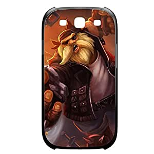 Gragas-003 League of Legends LoL case cover for Samsung Galaxy S3, I9003 - Plastic Black