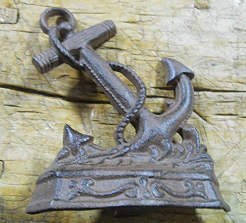 Rustic & Primitive Crafting Supplies was Manufactured to Look Antique Cast Iron Nautical Anchor Doorstop Garden Statue Home Decor Book End Inspiration for A Project from Rustic & Primitive Crafting Supplies