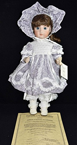(Francine CEE Doll - Full Body Porcelain Doll RAGINA Emile Jumeau Bebes 1889 Mold-Paris 19.5