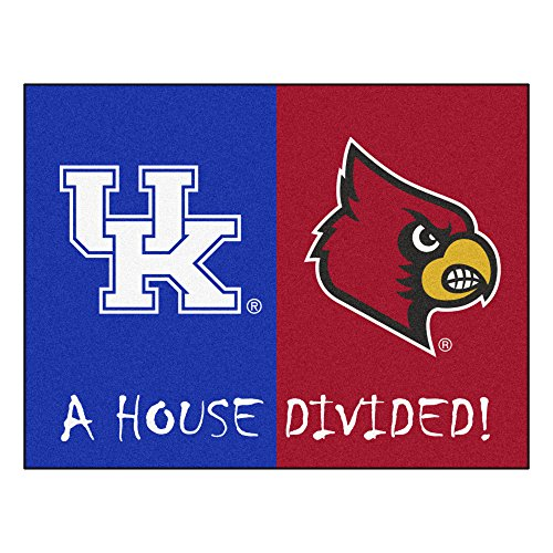 (FANMATS NCAA House Divided Nylon Face House Divided Rug)