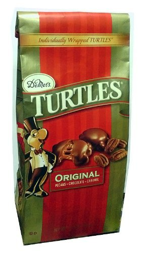 Demet's Turtles Original, Pecans~Chocolate~Caramel, 17.5-Ounce