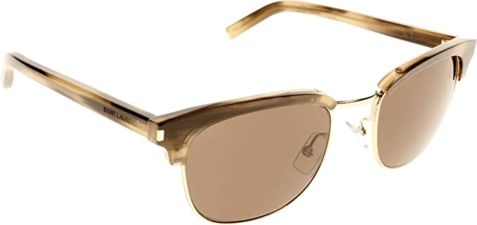 05eb4a73824 Image Unavailable. Image not available for. Colour  Saint Laurent  Clubmaster Style Sunglasses ...