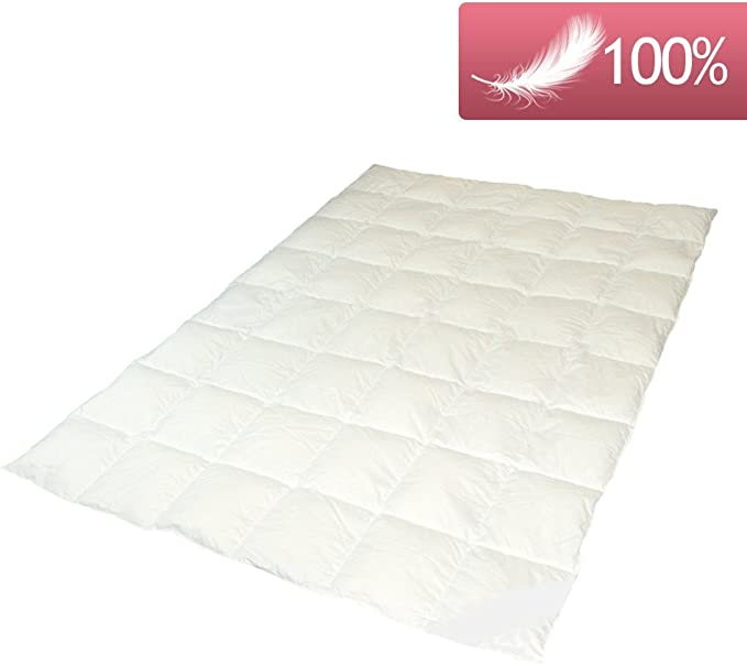 155x220 cm Betten Fachgesch/äft SommerDAUNENdecke ARKTIC Daunendecke perfekte leichte Sommerdecke Steppdecke 100/% arktischer Daunenflaum 100/% Natur