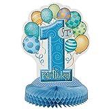 """14"""" Blue 1st Birthday Centerpiece Decoration"""