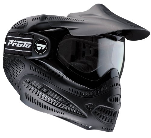 Proto Switch EL Paintball Goggle (Black/Black)