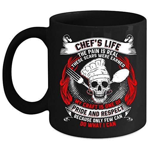 Chef's Life Coffee Mug, My Craft Is One Of Pride And respect Coffee Cup