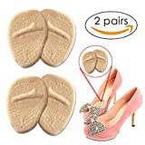 [2Pairs]Metatarsal Pads, Ball of Foot Cushions All Day Pain Relief and Comfort One Size Fits Shoe Inserts for Women by Bagvhandbagro[2Pairs]